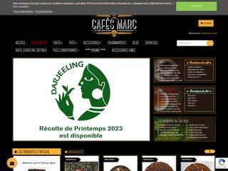 Détails : Café et thé : Cafés Marc