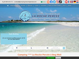 Détails : Camping de la Roche Percée