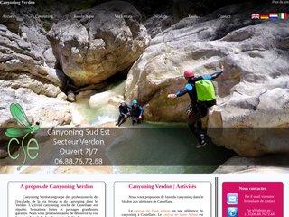 Détails : Canyoning Verdon