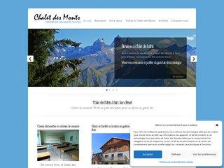 Le Centre de vacances Chalet des Monts en Savoie vous accueille toute l'année