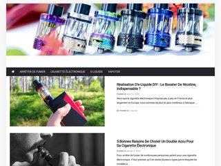 Détails : Cigway invente la cigarette électronique jetable