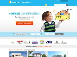 Détails : Comparateur-constructeur.com - comparateur de constructeur de maison
