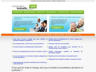 Détails : Comparateur mutuelle assurance santé