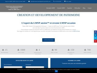 Détails : Création et Développement de Patrimoine - Expert de la revente LMP LMNP ancien d'occasion
