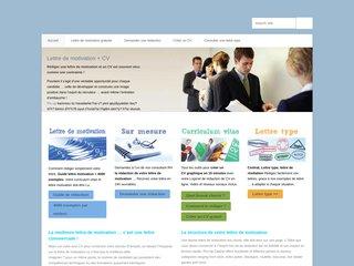 Détails : Lettres de motivation, lettres types, CV