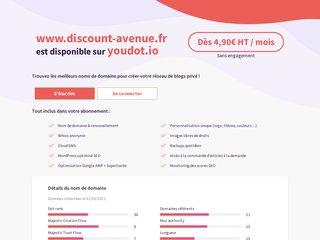 Détails : Discount Avenue