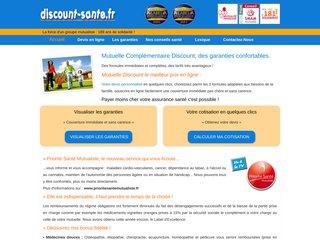 Détails : Discount-Sante.fr : Mutuelle santé pas chère