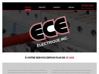 Détails : ECE entrepreneur général électrique - www.ece.ca
