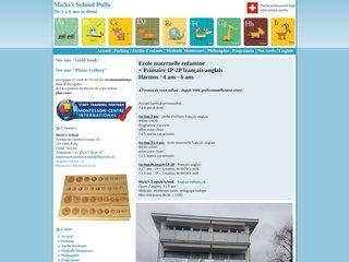 Détails : Ecole élémentaire bilingue, Lausanne (Suisse)