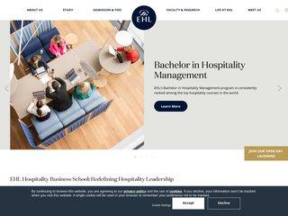 Détails : L'écôle hôtelière de Lausanne