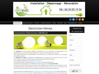 Détails : Electricien Nimes, dépannage électrique à Nimes