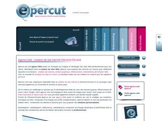 Détails : Agence web à Clermont-Ferrand - Epercut