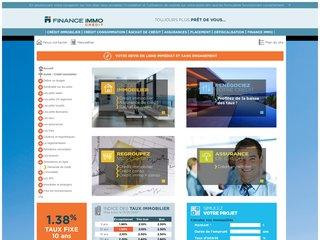 Détails : Finance Immo : Crédit immobilier