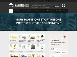 Détails : Fiscalistes . com | Avocat fiscaliste à Montréal