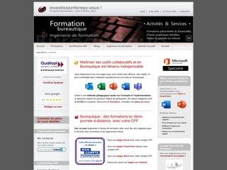Détails : Formation Bureautique Lyon