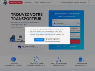FretBay: Le transport à votre façon