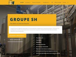 Détails : Groupe Sirech-Hostier : chaudronnerie, tuyauterie, montage, citernes
