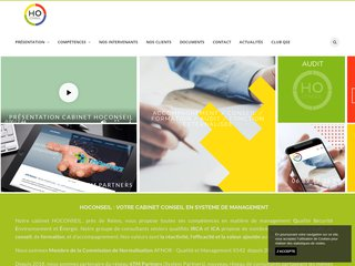 Détails : Ho Conseil, expert management en Qualité, Service et Environnement