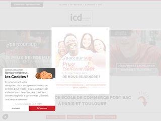 Détails : Ecole de commerce ICD