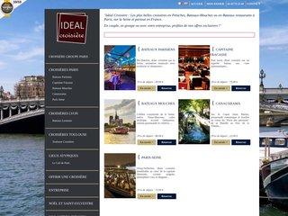 Détails : Réservation de croisières paris - Idéal Croisière