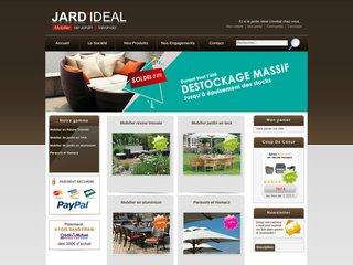 Détails : Mobilier jardin teck