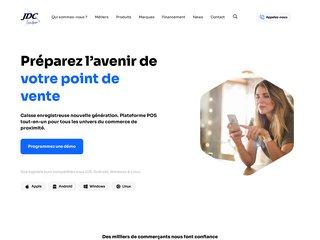 Détails : Caisse enregistreuse tactile JDC Midi-Pyrénées