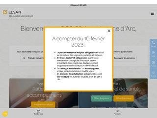 Détails : Clinique Jeanne d'Arc à Arles