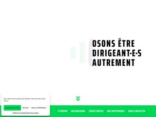 Détails : Découvrez le Centre des Jeunes Dirigeants d'Entreprise (CJD)