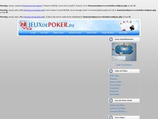 Détails : jeux de poker gratuit