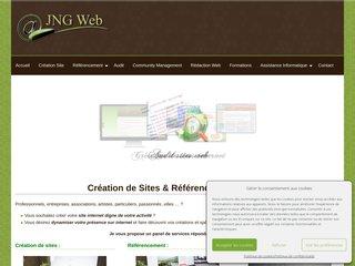 Détails : Création de sites internet - Référencement Dijon