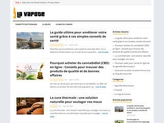 Détails : la vapote 27 : cigarette électronique