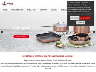 Détails : E-commerce d'ustensiles de cuisson de qualité