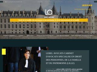 Lebel Avocat - Cabinet d'avocat spécialiste en divorce à Lille