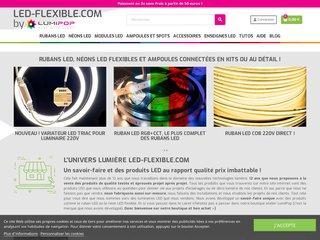 Détails : Led flexible, spécialiste en luminaires flexibles