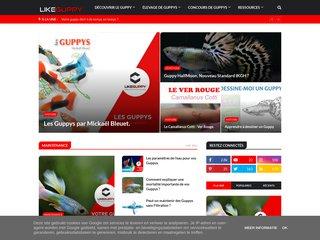 Détails : LikeGuppy • Le Blog d'un Passionné de Guppys de Sélection