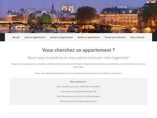 Détails : Acheter, vendre ou louer un appartement pas cher