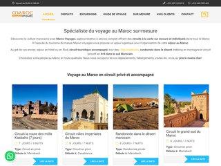 Détails : Portail des voyages et séjours au Maroc