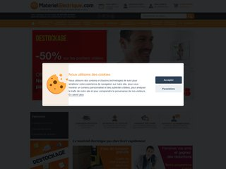 Détails : Materiel Electrique - Vente en ligne