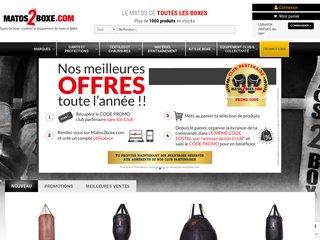 Détails : Matos 2 Boxe : gants de boxe et équipement de boxe