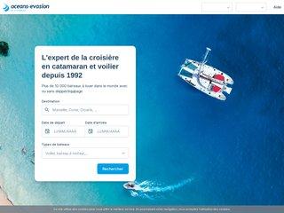 Détails : Océans Evasion : location catamaran & voilier