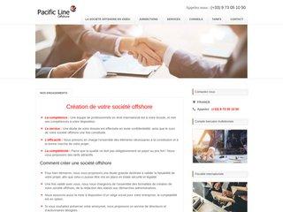 Détails : Pacific Line : Conseils et Création de sociétés à l'étranger
