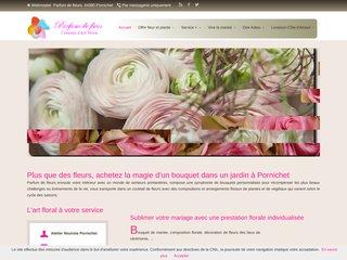 Détails : Parfum de fleurs