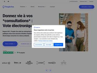 Détails : People Vox : enquêtes de satisfaction et sondages d'opinion