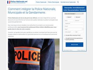Détails : Un site inédit sur la Police Française