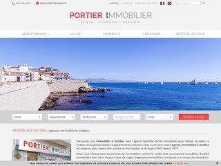 Détails : Agence immobilière Antibes  -portierimmo.fr