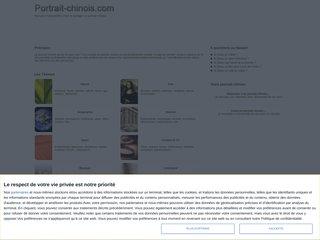 Détails : Questionnaire de Proust : Portrait chinois