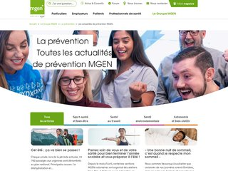 Détails : MGEN Prévention Santé