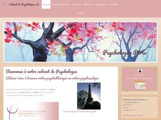 Détails : Cabinet de psychologie à Paris 7 sur rendez-vous