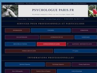 Psychologue Coach Psychothérapeute