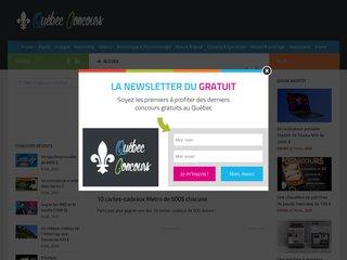 Détails : Concours gratuit Québec